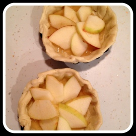 apple tart raw
