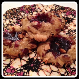 thumbprint cookies cooked