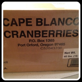 cranberry box