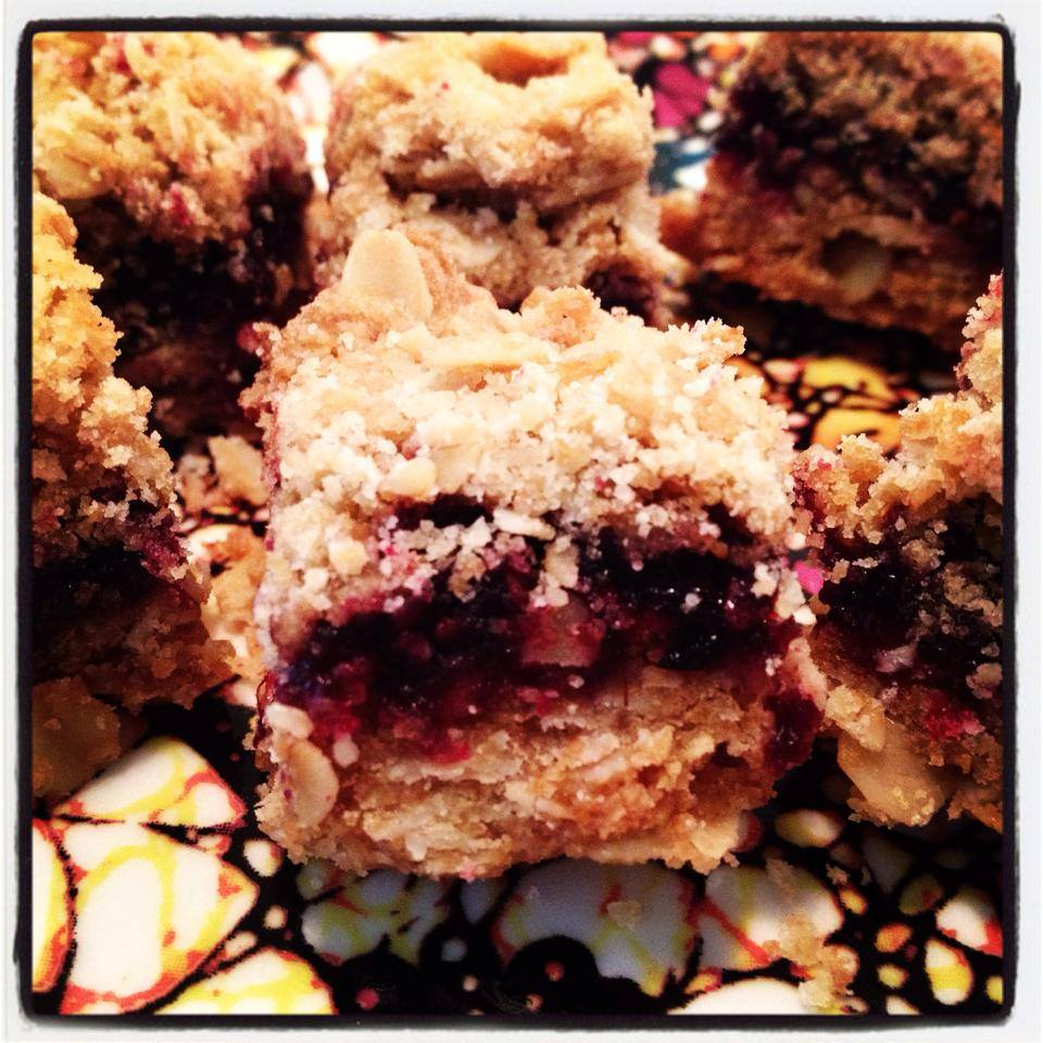 Marionberry Oatmeal Cookie Bars | Special Jams, Fruit Butters, Sauces ...